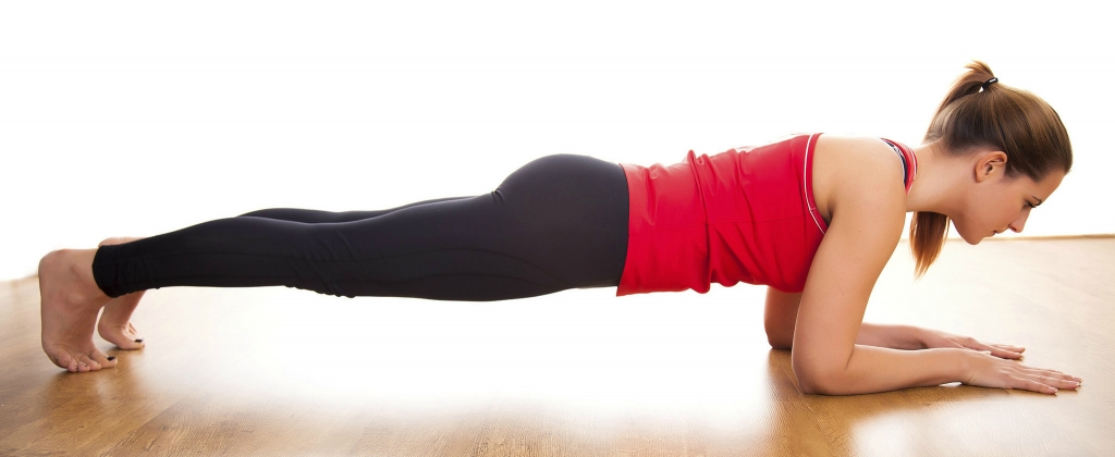 fitness beginner plank newbies